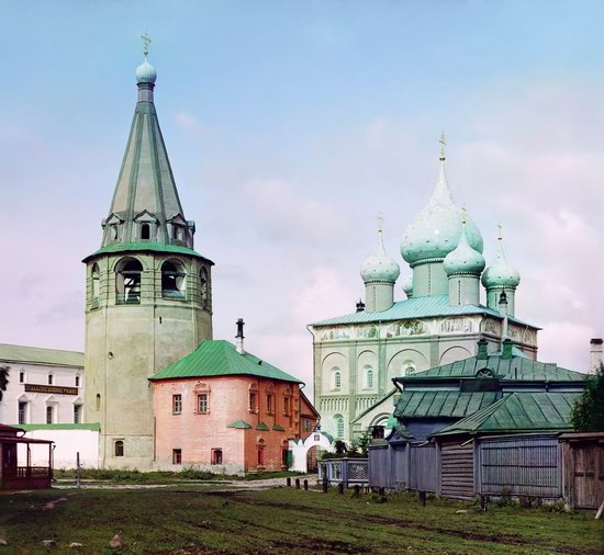 Suzdal, Russia in color in 1912, photo 2