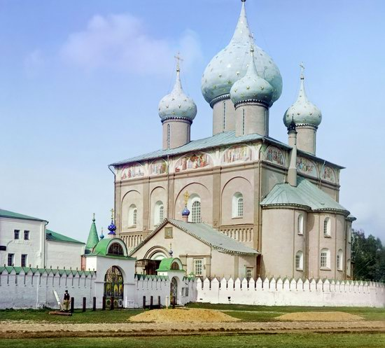 Suzdal, Russia in color in 1912, photo 3
