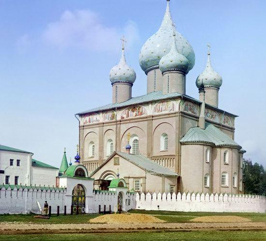 Suzdal, Russia in color in 1912, photo 3