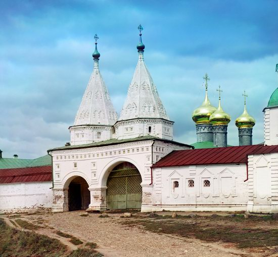 Suzdal, Russia in color in 1912, photo 4