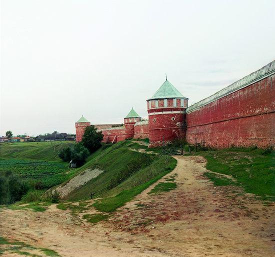 Suzdal, Russia in color in 1912, photo 5