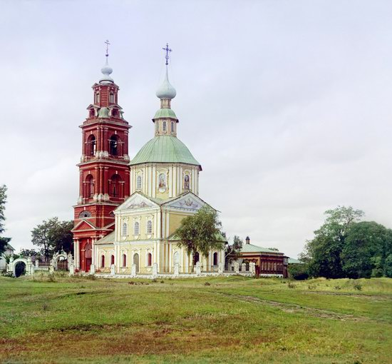 Suzdal, Russia in color in 1912, photo 6