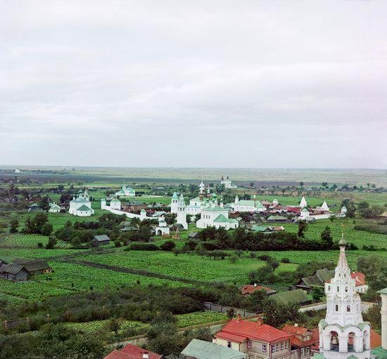Suzdal, Russia in color in 1912, photo 7