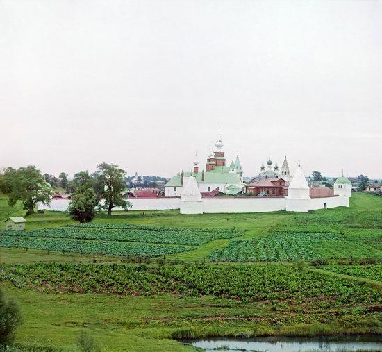 Suzdal, Russia in color in 1912, photo 8