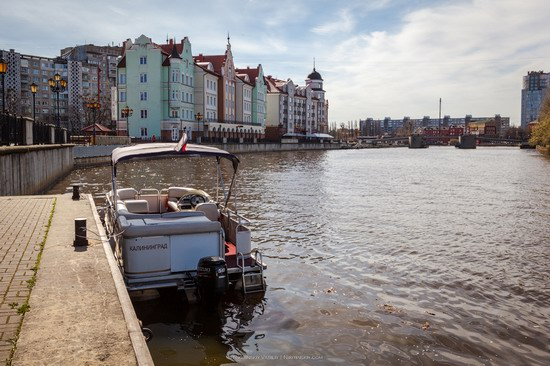 Boat trip in Kaliningrad, Russia, photo 3