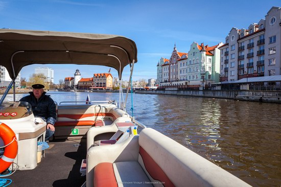 Boat trip in Kaliningrad, Russia, photo 5