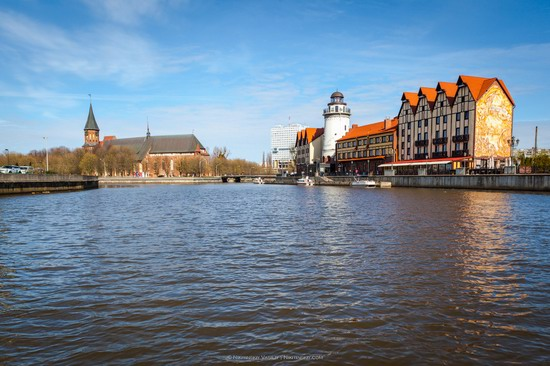 Boat trip in Kaliningrad, Russia, photo 9