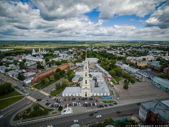 Kolomna, Russia - the view from above, photo 1