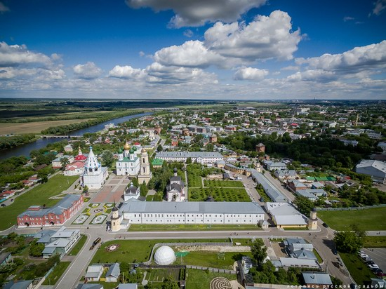 Kolomna, Russia - the view from above, photo 10