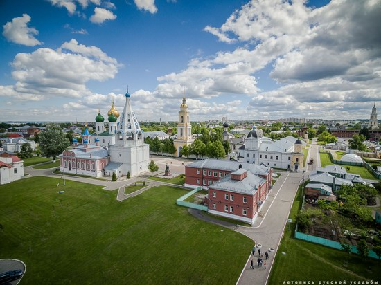 Kolomna, Russia - the view from above, photo 12
