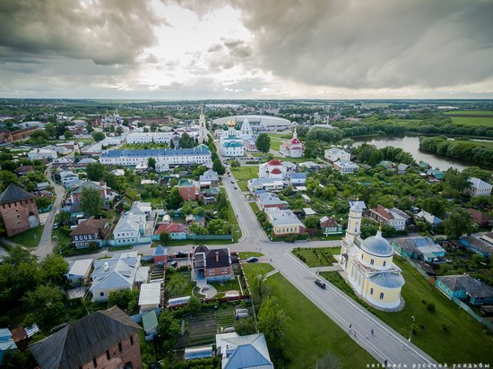 Kolomna, Russia - the view from above, photo 13