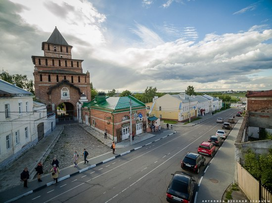 Kolomna, Russia - the view from above, photo 14