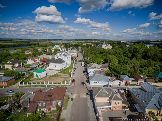 Kolomna, Russia - the view from above, photo 17