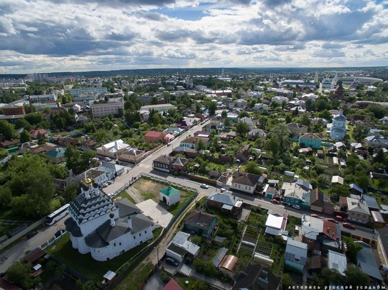 Kolomna, Russia - the view from above, photo 19