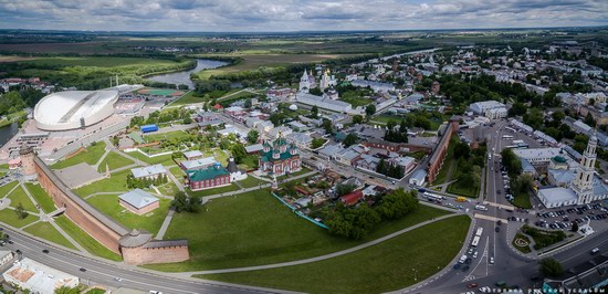 Kolomna, Russia - the view from above, photo 2