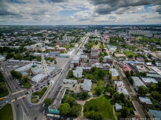 Kolomna, Russia - the view from above, photo 5