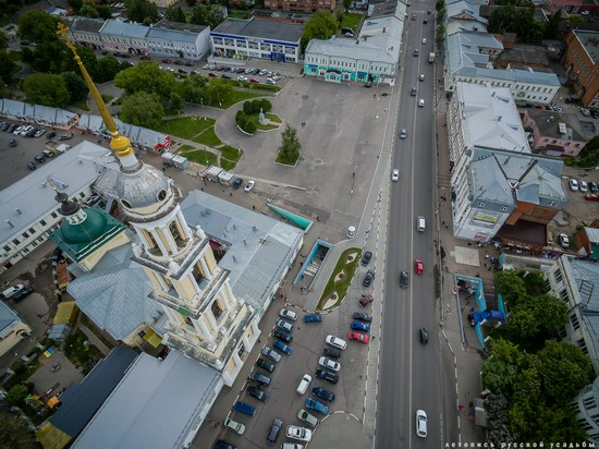 Kolomna, Russia - the view from above, photo 6