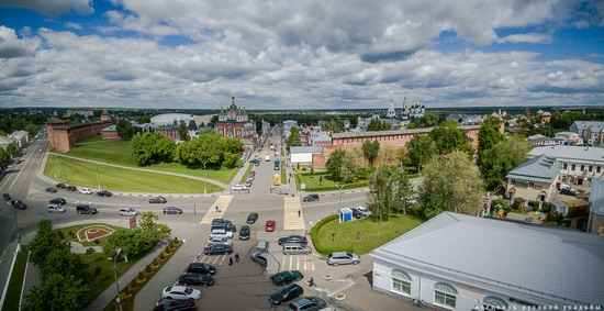 Kolomna, Russia - the view from above, photo 7