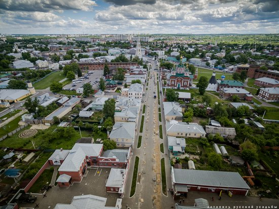 Kolomna, Russia - the view from above, photo 8