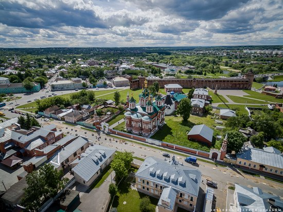 Kolomna, Russia - the view from above, photo 9