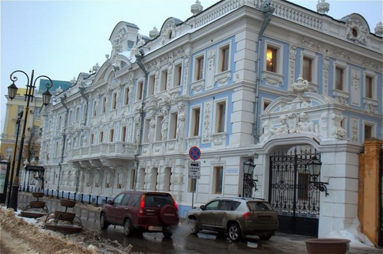 Most beautiful house in Nizhny Novgorod, Russia, photo 1