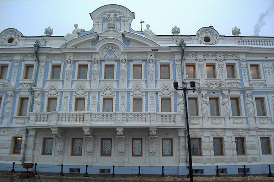 Most beautiful house in Nizhny Novgorod, Russia, photo 2