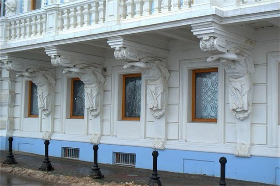 Most beautiful house in Nizhny Novgorod, Russia, photo 3