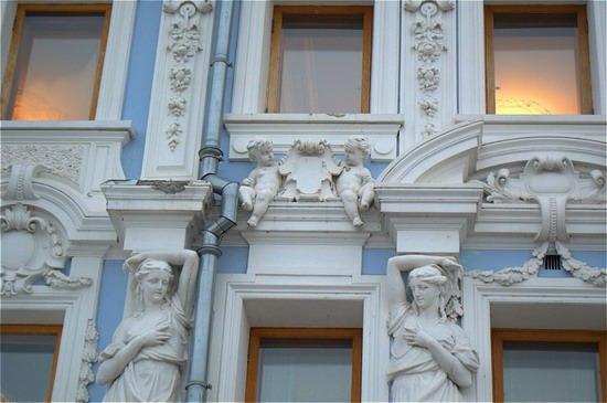 Most beautiful house in Nizhny Novgorod, Russia, photo 4