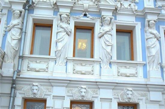Most beautiful house in Nizhny Novgorod, Russia, photo 5