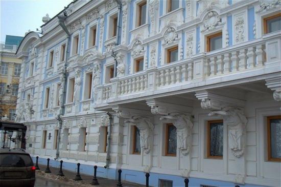 Most beautiful house in Nizhny Novgorod, Russia, photo 7