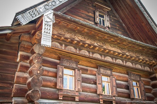 Museum of wooden architecture in Suzdal, Russia, photo 12