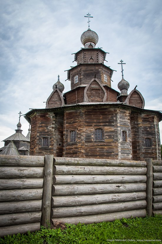 Museum of wooden architecture in Suzdal, Russia, photo 2