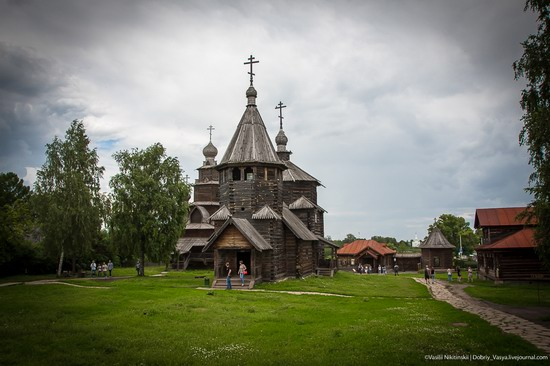 Museum of wooden architecture in Suzdal, Russia, photo 26