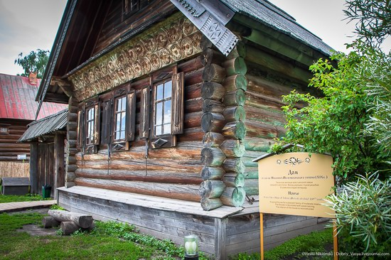 Museum of wooden architecture in Suzdal, Russia, photo 6