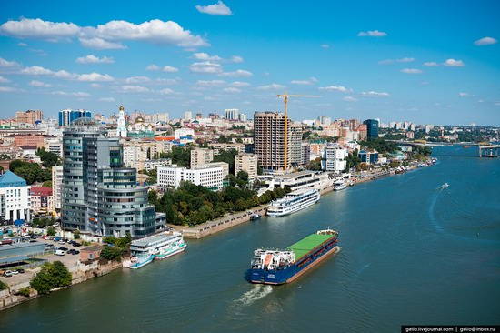 Rostov-on-Don, Russia - the view from above, photo 2