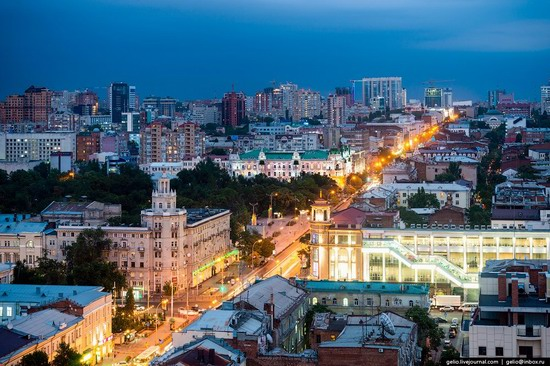 Rostov-on-Don, Russia - the view from above, photo 4