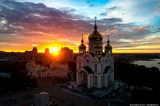 Khabarovsk, Russia - the view from above, photo 1