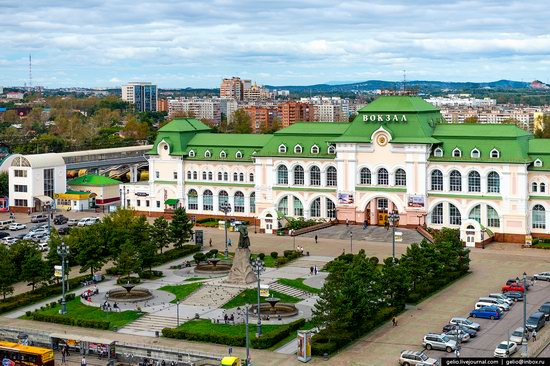 Khabarovsk, Russia - the view from above, photo 17