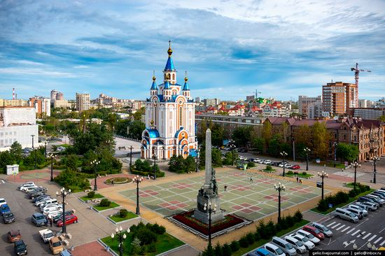 Khabarovsk, Russia - the view from above, photo 2