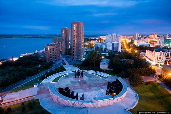 Khabarovsk, Russia - the view from above, photo 26