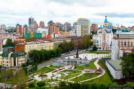 Khabarovsk, Russia - the view from above, photo 3