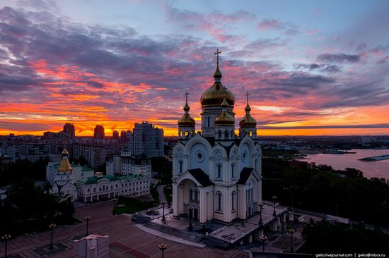 Khabarovsk, Russia - the view from above, photo 4