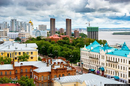 Khabarovsk, Russia - the view from above, photo 7