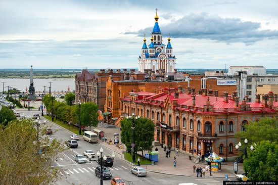 Khabarovsk, Russia - the view from above, photo 9