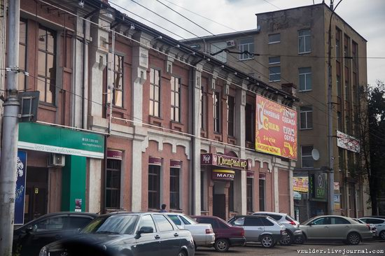 Walking through the streets of Maykop, Russia, photo 23