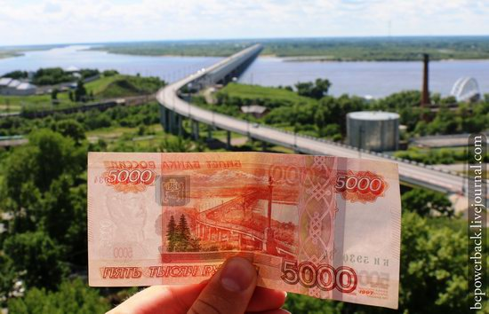 Russian banknotes and the sights depicted on them, photo 14