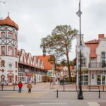 Svetlogorsk – a resort town on the coast of the Baltic Sea