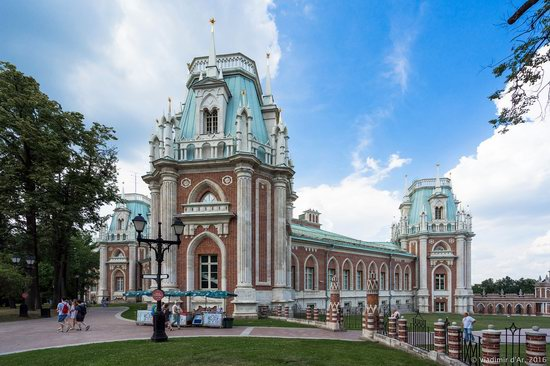 Tsaritsyno Museum-Reserve in Moscow, Russia, photo 1