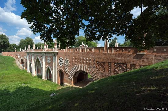 Tsaritsyno Museum-Reserve in Moscow, Russia, photo 14