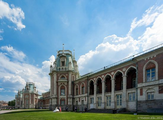 Tsaritsyno Museum-Reserve in Moscow, Russia, photo 16